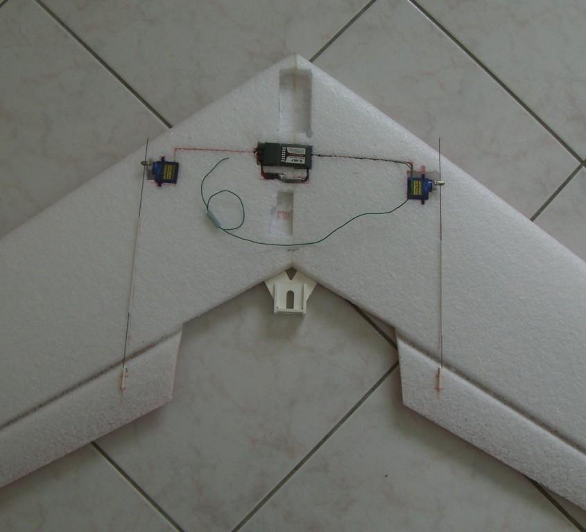Récepteur, Mixer, servos et commandes ailerons