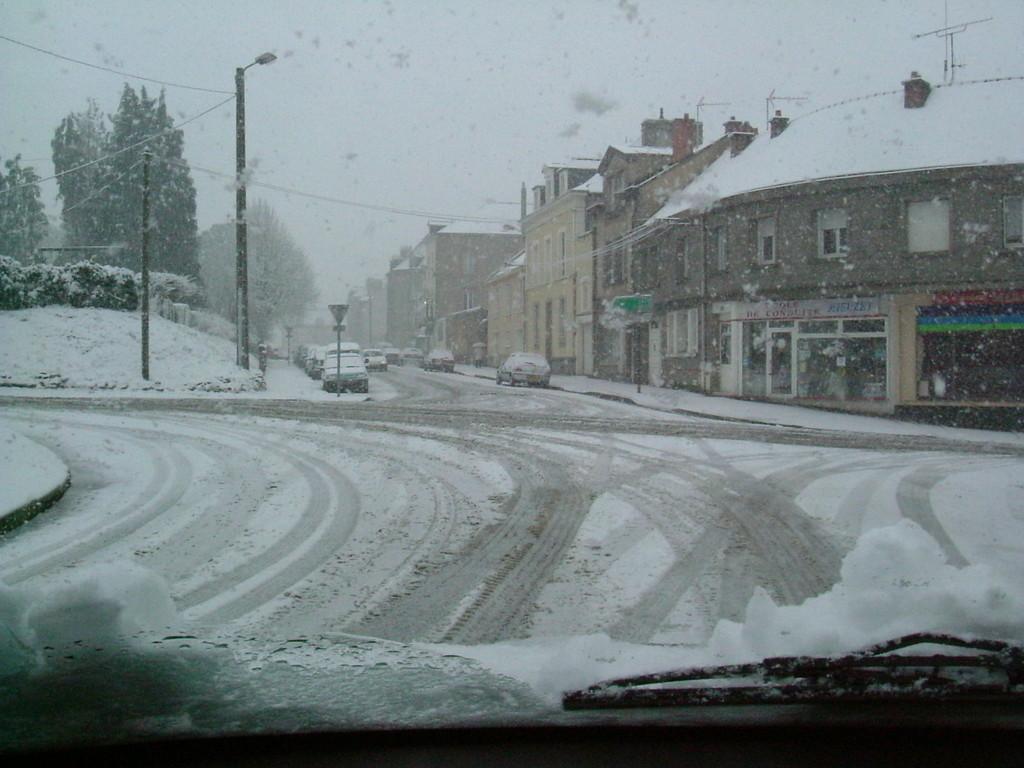 Mayenne sous la neige (2007)