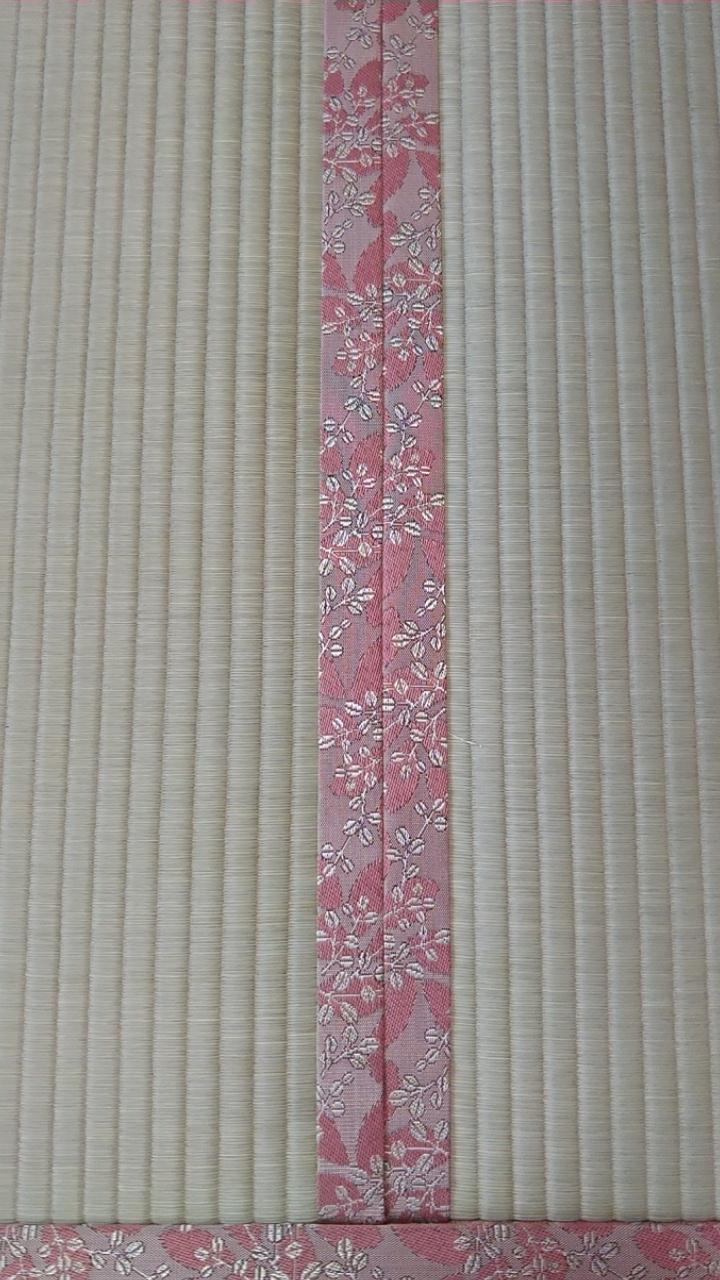 畳縁は、HANA香織 No50を使用しました。