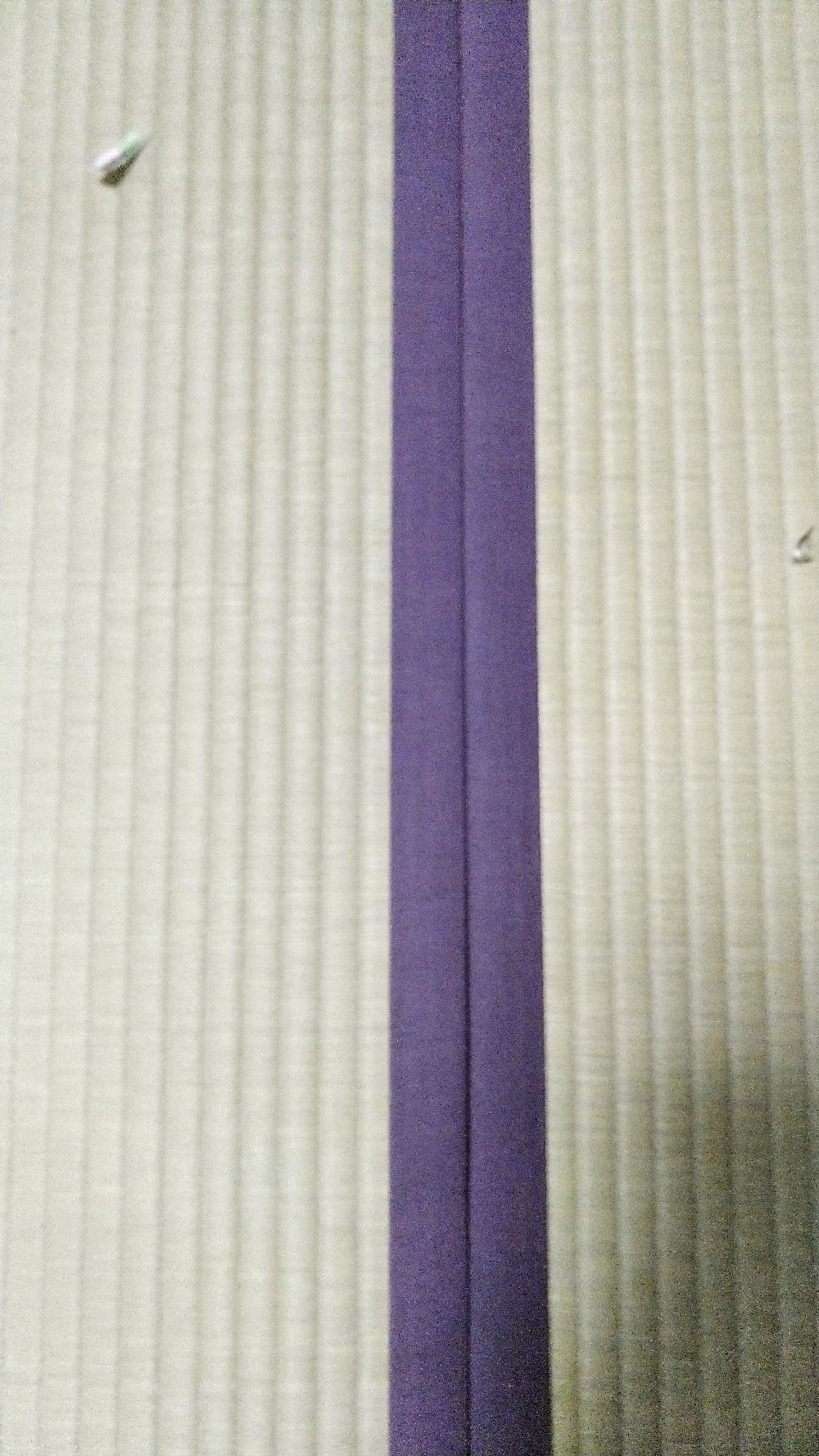 畳縁は、禅No70葡萄染を使用しました。