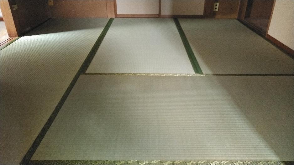 二宮町賃貸物件に新畳を納品しました。