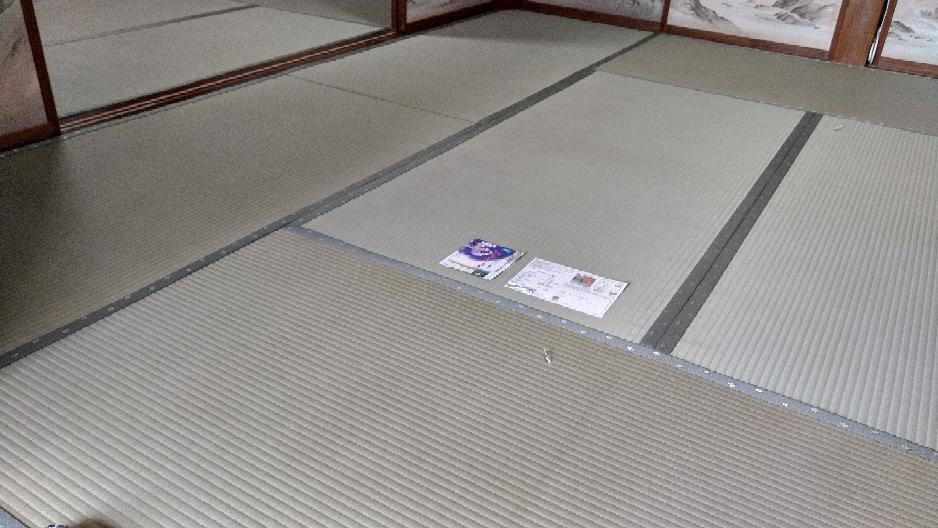 本床(藁床)新畳を納品しました。
