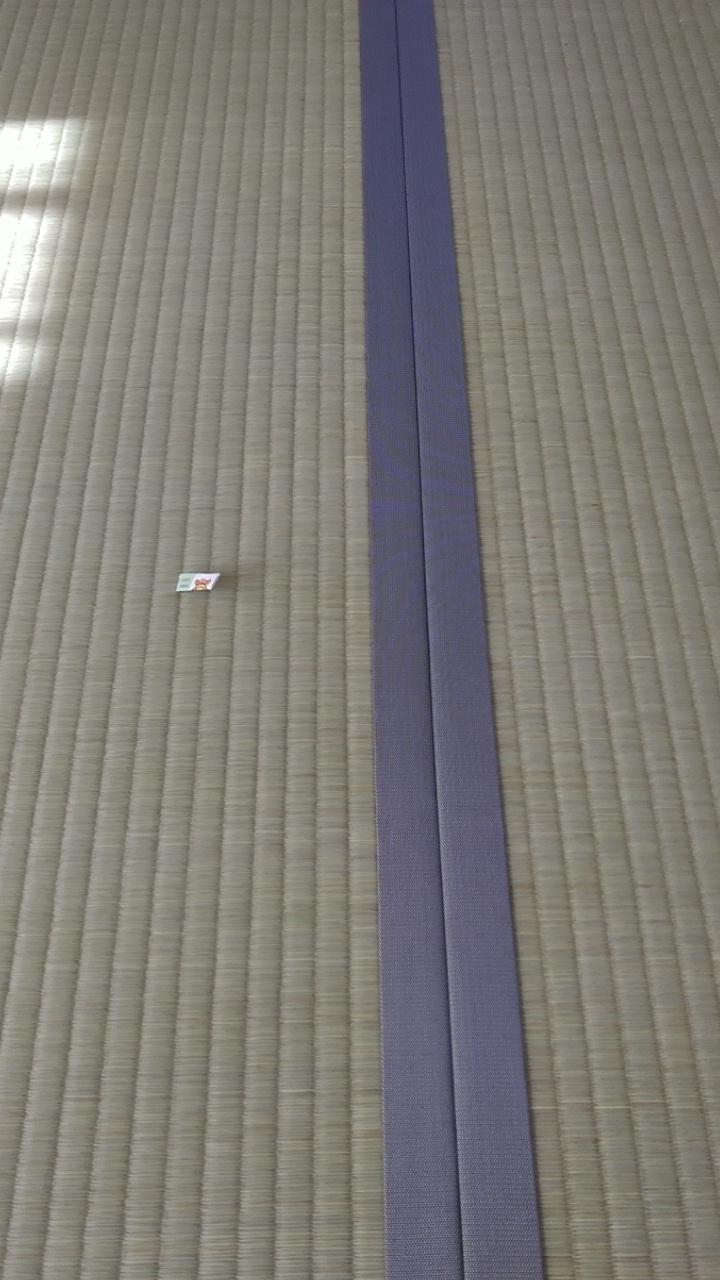 畳縁は、集 No3 無地グレー系を使用しました。