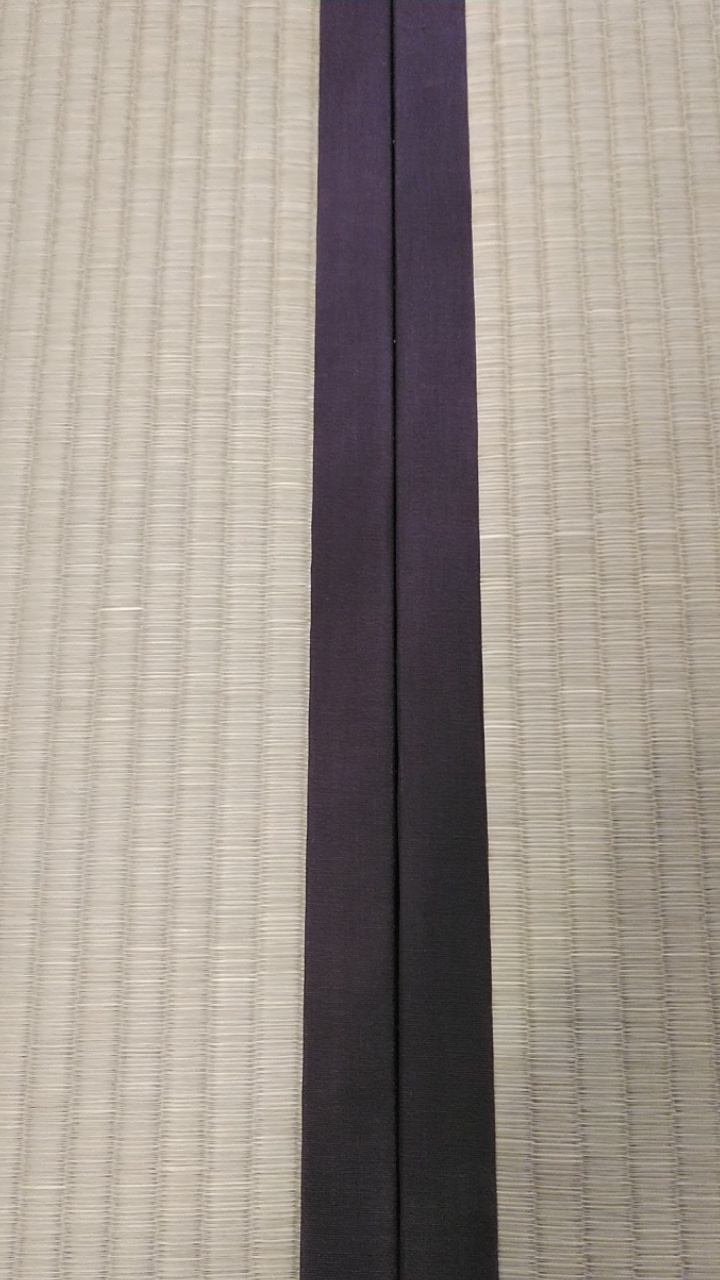畳縁は、綿縁 栗茶色を使用しました。