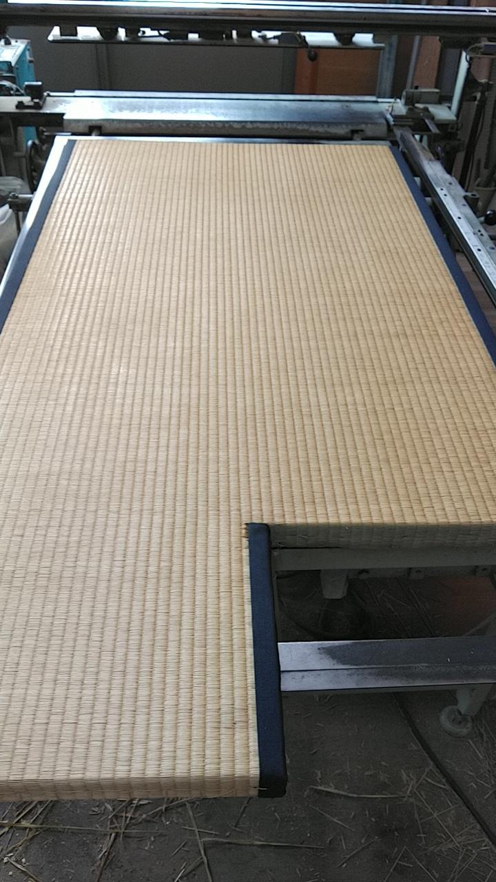 現在使用している畳の丈の切断加工しました。
