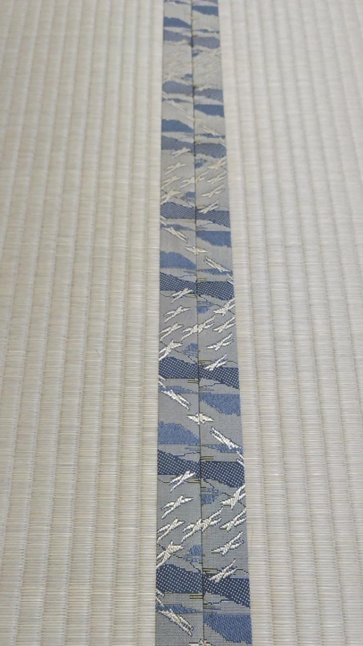 畳縁は、HANA香織Ⅱ No70 雁を使用しました。