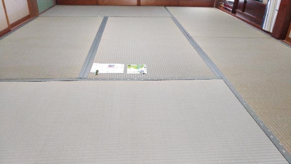 熊本産表、建材床を使用して、新畳を納品しました。