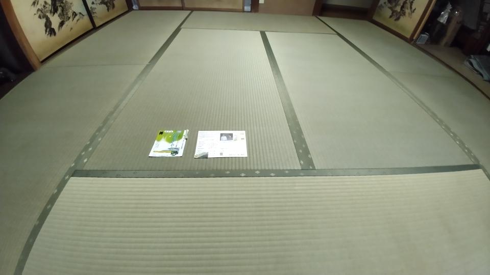 熊本産表、軽量ボード床で新畳を納品しました。