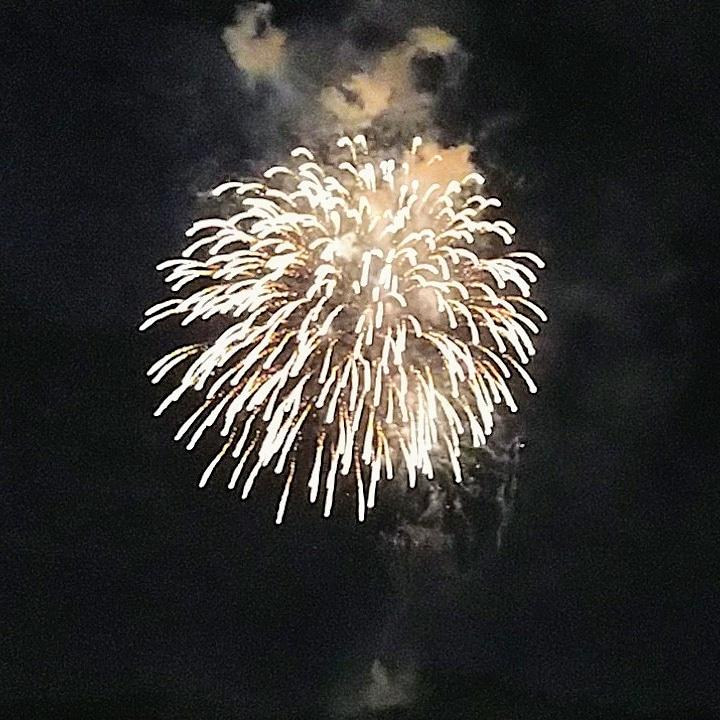 小田原市橘商工会青年部「みんなの花火」で打ち上げ花火を上げました。
