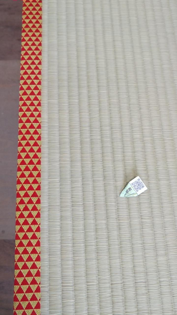熊本産表、問屋様オリジナルカラー畳縁です。