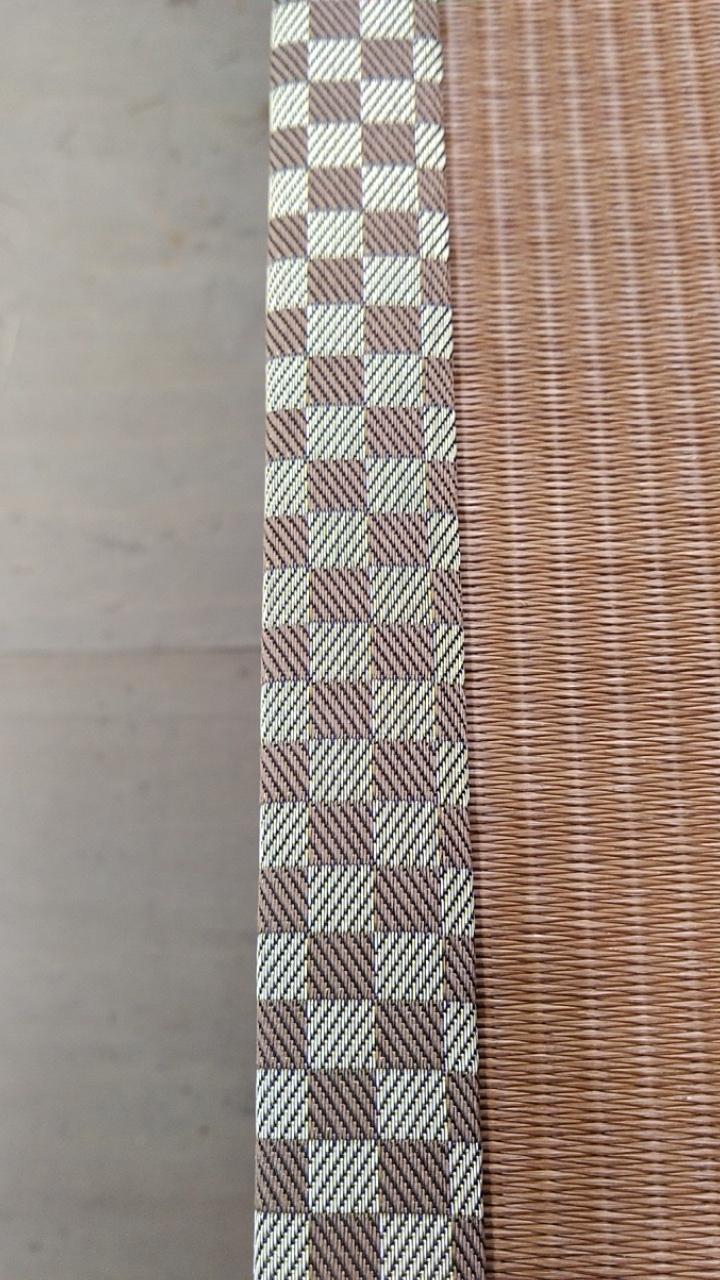 畳縁は、ルーミーⅣ No44を使用しました。