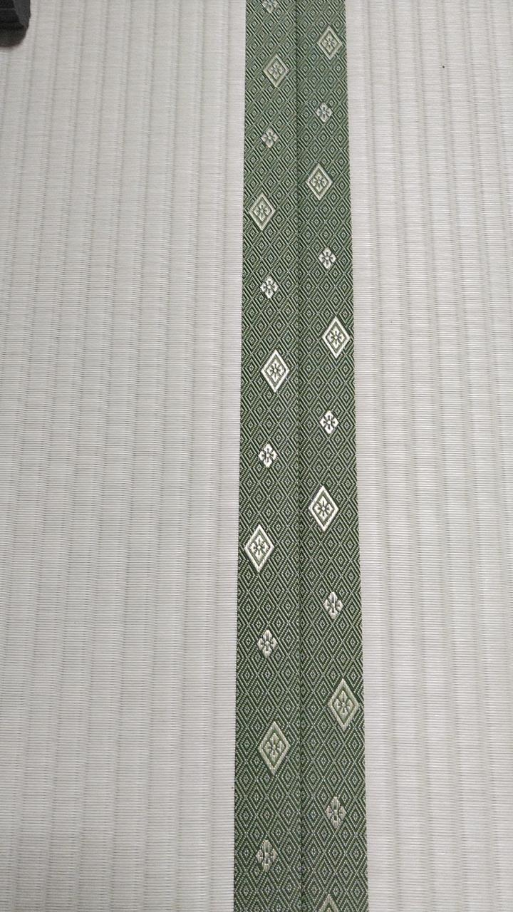 畳縁は、暮四季 No90を使用しました。