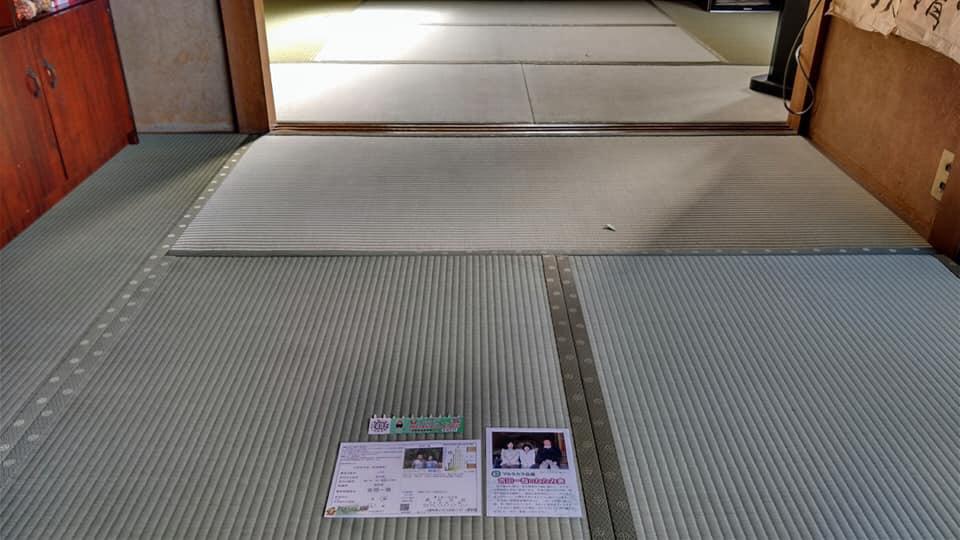 熊本産表を使用して、本床(藁床)新畳を納品しました。