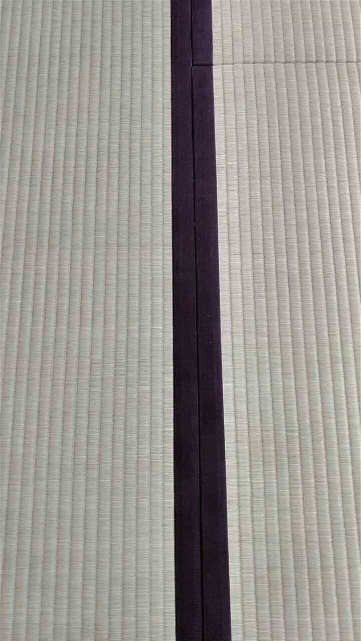 熊本産表、綿縁 栗茶色を使用しました。