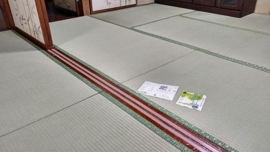 小田原市のお客様を熊本産表で畳替えしました。