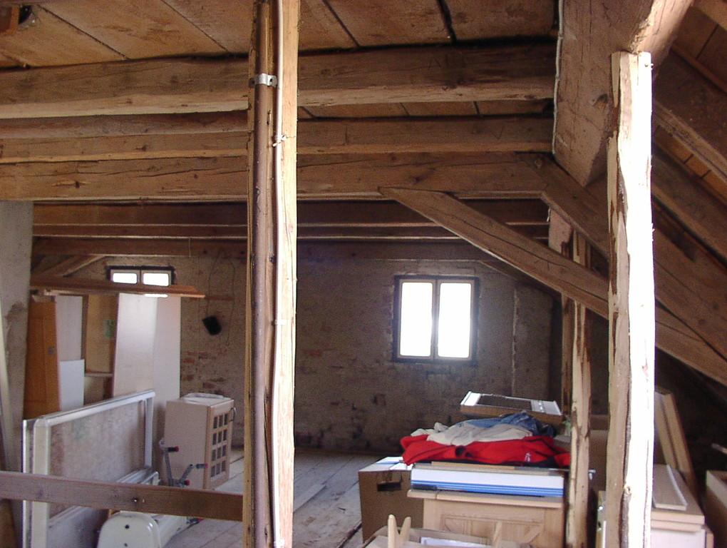 Der alte Dachboden