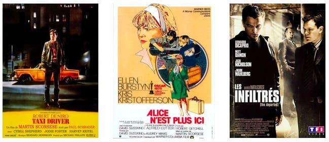 Filmographie Scorsese