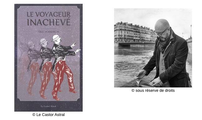 Le voyageur inachevé #Fiction #Correspondance #FousLittéraires #Quête #Musée #Confessions #Voyages Éric poindronn