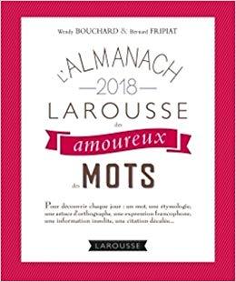 Couverture L'almanach des amoureux des mots