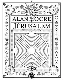 Couverture Jerusalem Chronique littérature roman fantastique art drogue mort folie fantômes angleterre guillaume cherel