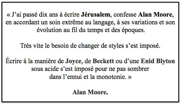 Alan Moore, Jerusalem