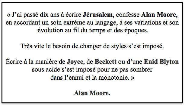 Citation d'Alan Moore