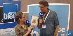 Livre à Metz interview France Bleue