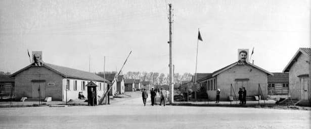 Entrée du Camp russe de Creysse