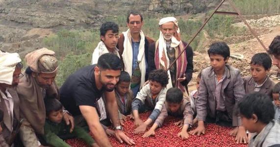 Mokhtar Alkhanshali , Yémen. Crédit © CBS NEWS