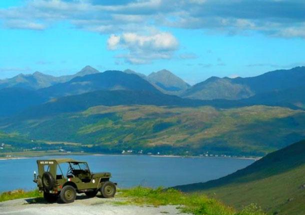 Необычное жилье Airbnb в Шотландии