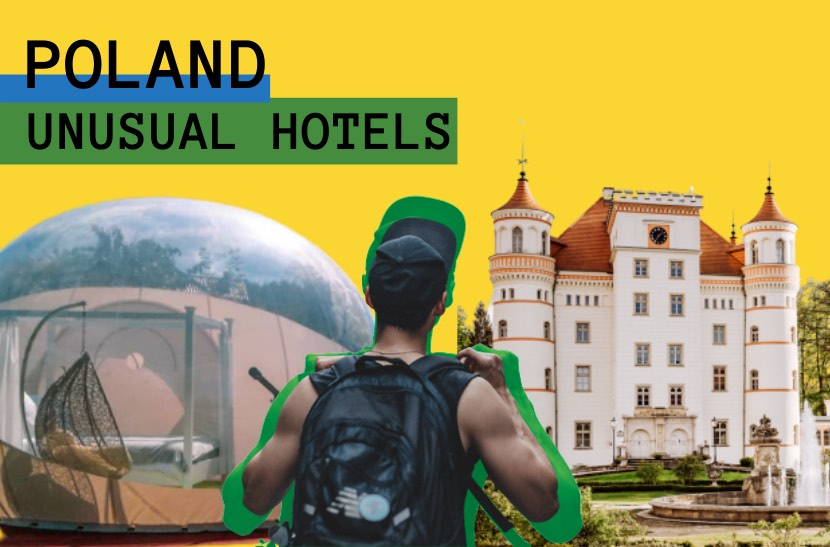 Poland unusual hotels and unique accommodation directory