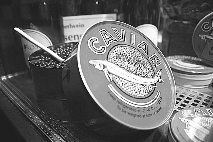 Transnistria things to do: go on a black caviar tour