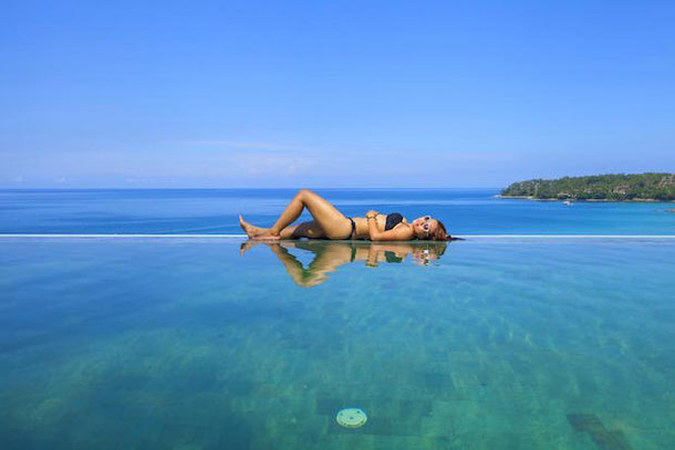 Turin Beach Resort Hotel with an infinity pool