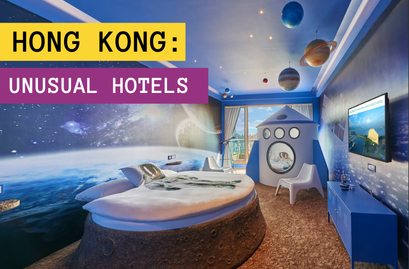 unusual and unique hotels in Hong Kong: The Alternative Travel Guide's selection