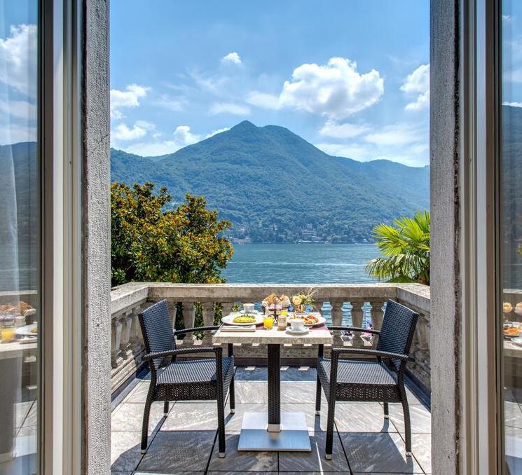отель с видом на озеро Комо Grand Hotel Imperiale Resort & SPA