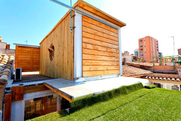 Транспортный контейнер-дом в Испании