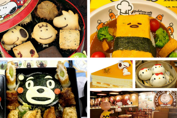 unusual food in quirky cafes and restaurants in Hong Kong
