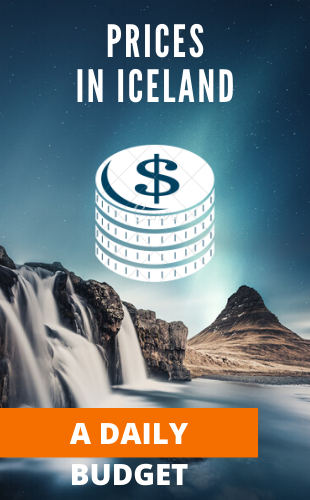 PRICES IN ICELAND FOR TOURISTS