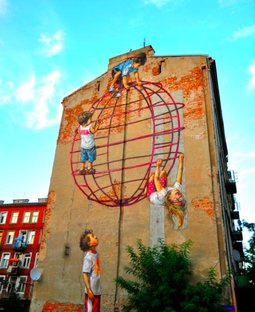 Нетуристическая Варшава: стрит арт в районе Прага