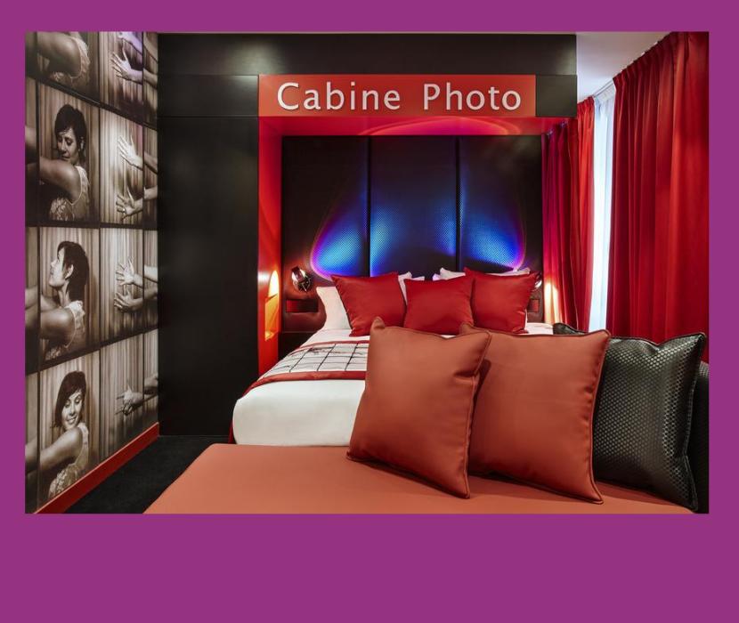 необычный отель в Париже для любителей фотографии Declic Hotel