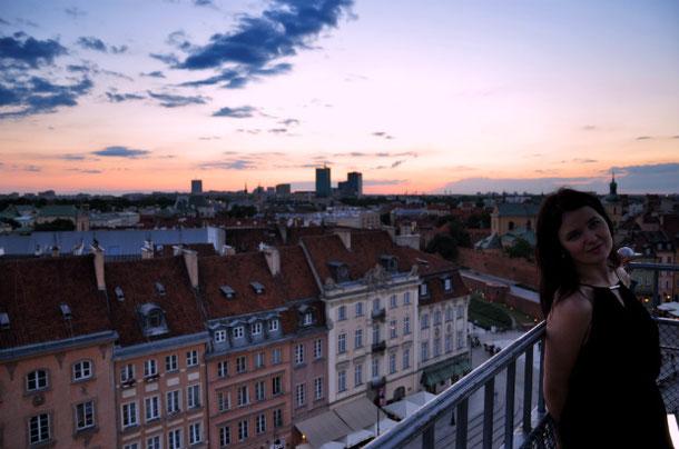 Крыши Варшавы