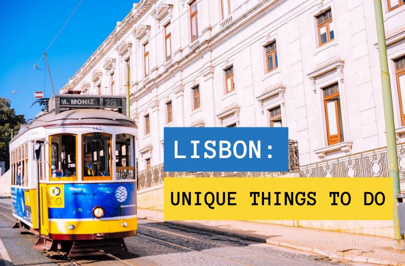 Cool things to do in Lisbon: ride a Lisbon tram 28