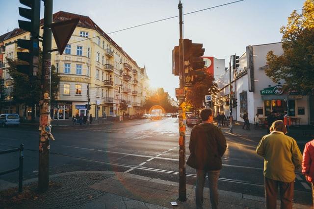 Район Пренцлауэр Берг в Берлине
