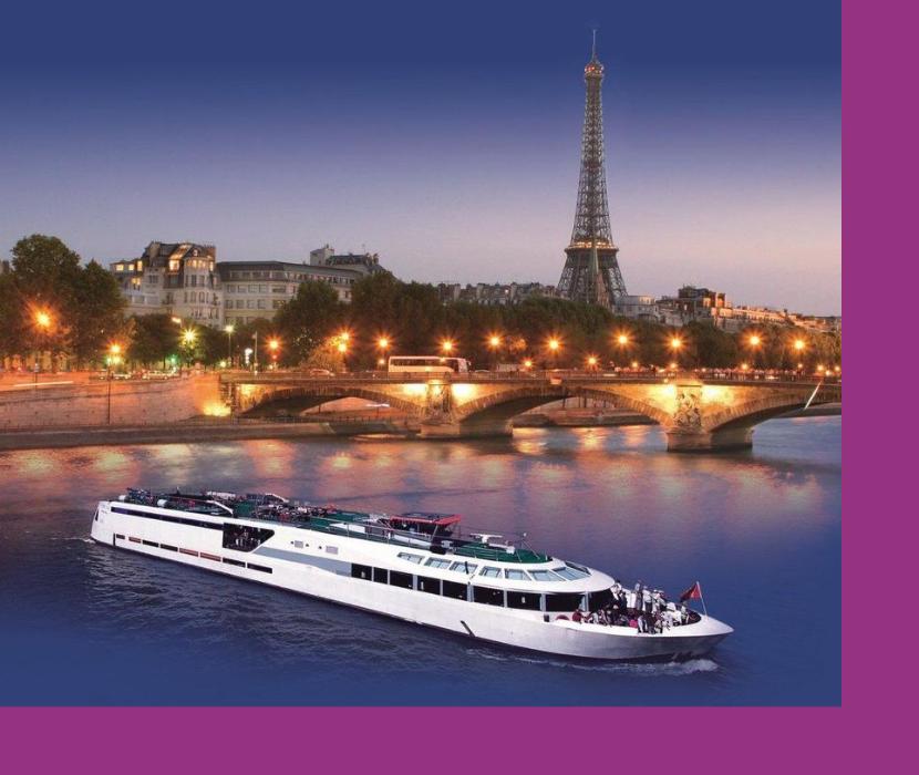 оригинальный ресторан на яхте-отеле в Париже