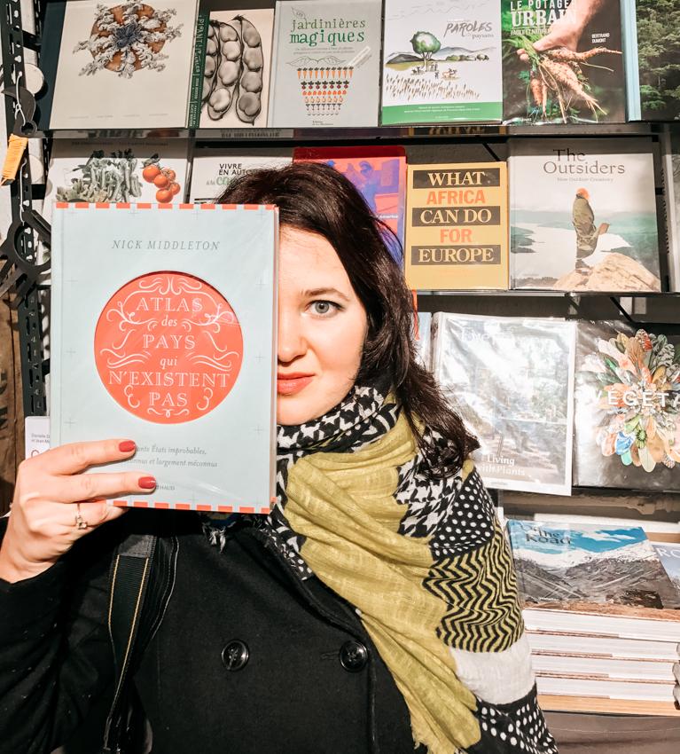 независимый книжный магазин в Париже