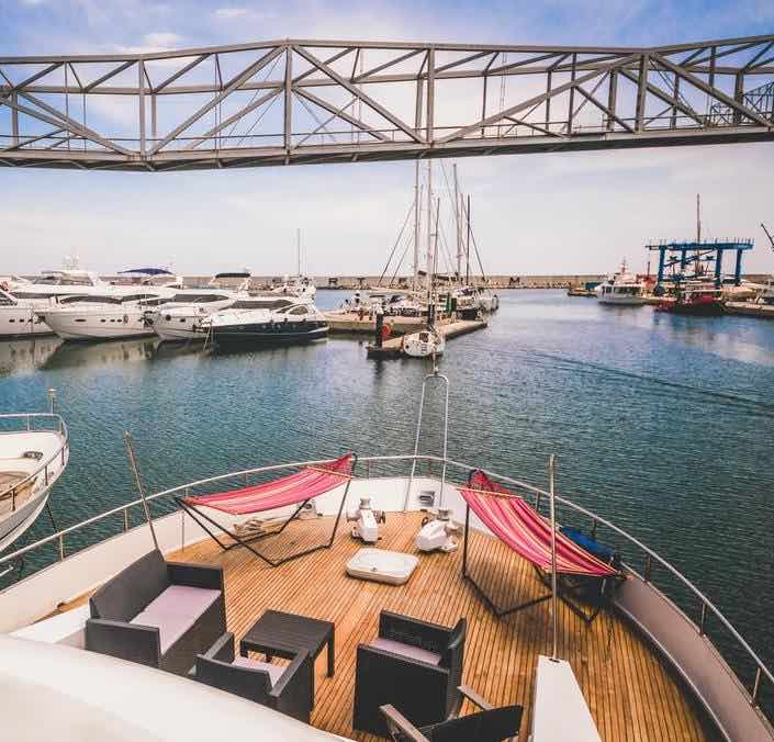 Unique place to stay in Barcelona: a boatel