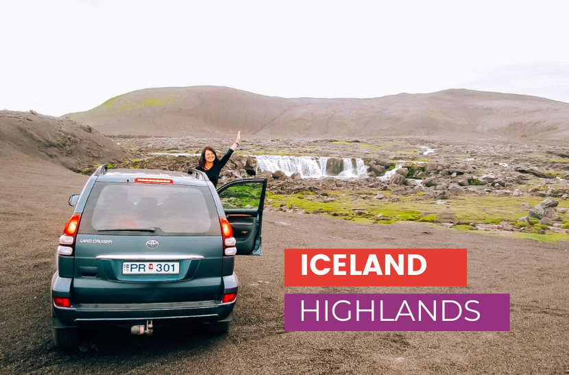 Iceland Highlands itinerary - Iceland off the beaten track