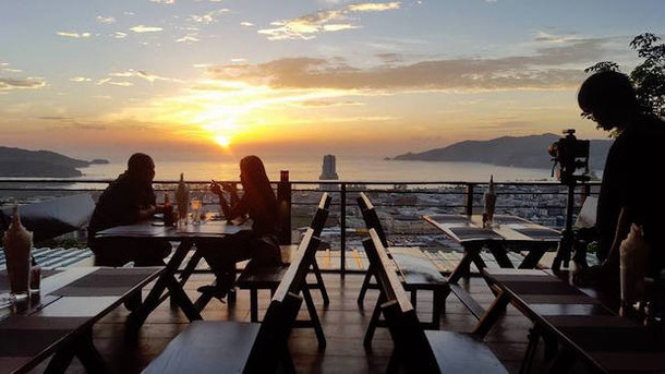 Dinner with a view at the Patong Sunset View Restaurant