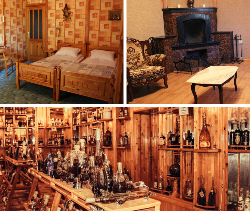 Transnistria things to do: a bottle museum and a hotel