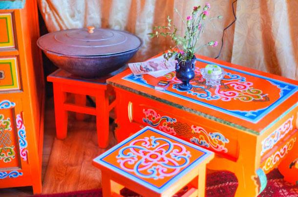 Необычное жилье Airbnb в Германии - монгольская юрта
